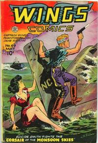 Cover Thumbnail for Wings Comics (Fiction House, 1940 series) #69
