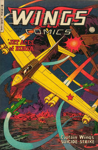 Cover Thumbnail for Wings Comics (Fiction House, 1940 series) #116
