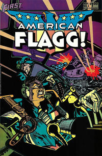 Cover Thumbnail for American Flagg! (First, 1983 series) #6