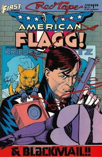 Cover Thumbnail for American Flagg (First, 1983 series) #21