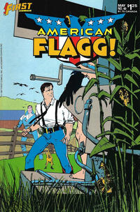 Cover Thumbnail for American Flagg! (First, 1983 series) #40