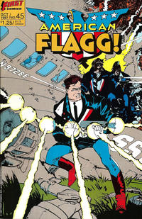 Cover Thumbnail for American Flagg! (First, 1983 series) #45