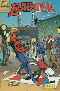 Cover Thumbnail for The Badger (First, 1985 series) #39