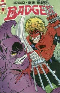 Cover Thumbnail for The Badger (First, 1985 series) #51