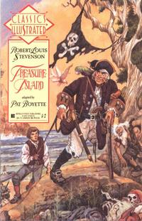 Cover Thumbnail for Classics Illustrated (First, 1990 series) #17 - Treasure Island