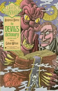 Cover Thumbnail for Classics Illustrated (First, 1990 series) #18 - The Devil's Dictionary and Other Works