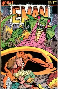 Cover Thumbnail for E-Man (First, 1983 series) #12