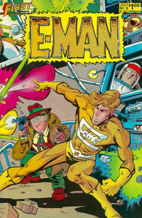 Cover Thumbnail for E-Man (First, 1983 series) #16