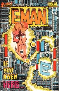 Cover Thumbnail for E-Man (First, 1983 series) #20