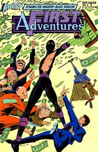 Cover Thumbnail for First Adventures (First, 1985 series) #4
