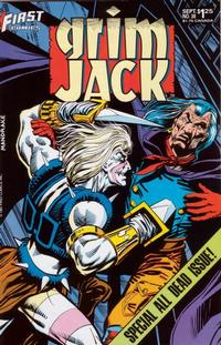 Cover Thumbnail for Grimjack (First, 1984 series) #38