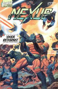 Cover Thumbnail for Nexus (First, 1985 series) #33