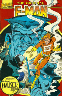 Cover Thumbnail for The Original E-Man and Michael Mauser (First, 1985 series) #2