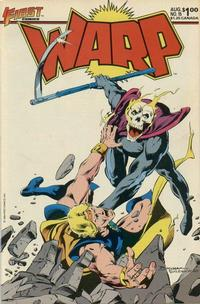 Cover Thumbnail for Warp (First, 1983 series) #15