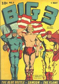 Cover Thumbnail for Big 3 (Fox, 1940 series) #3