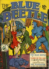 Cover for Blue Beetle (Fox, 1940 series) #11