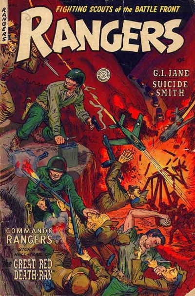 Cover for Rangers (Fiction House, 1952 series) #69