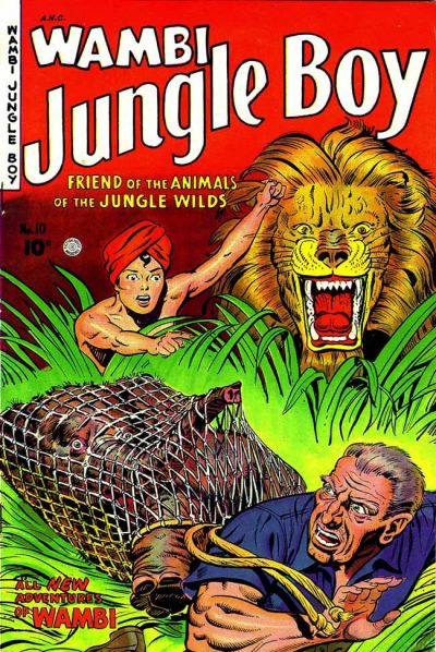 Cover for Wambi, Jungle Boy (1942 series) #10