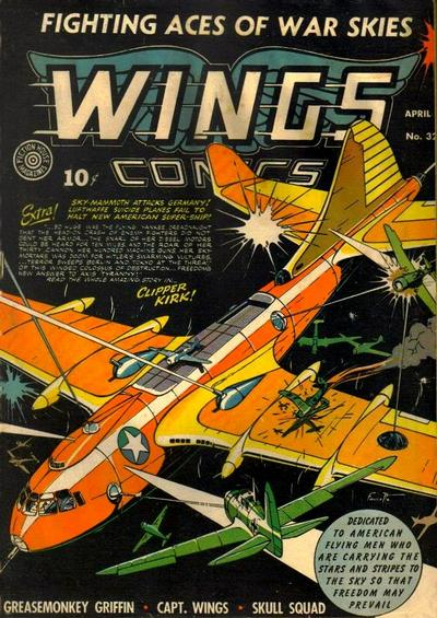 Cover for Wings Comics (1940 series) #32