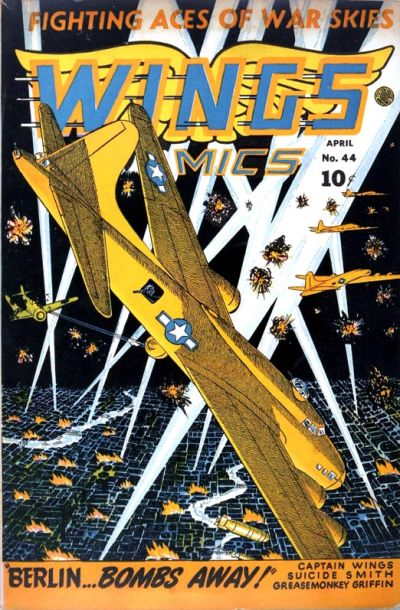 Cover for Wings Comics (Fiction House, 1940 series) #44