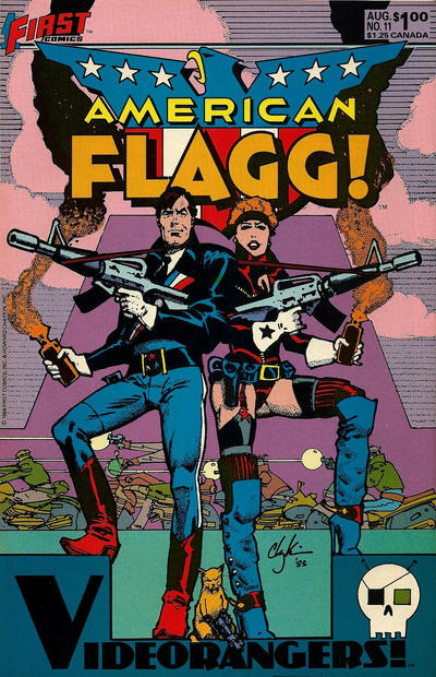 Cover for American Flagg! (First, 1983 series) #11