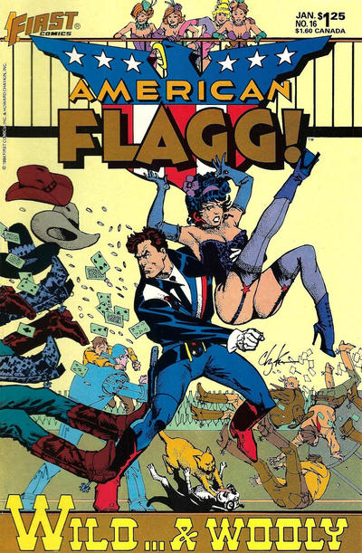 Cover for American Flagg! (First, 1983 series) #16