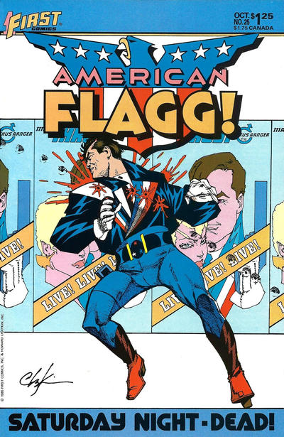 Cover for American Flagg! (First, 1983 series) #25