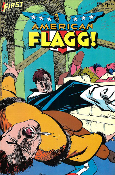 Cover for American Flagg! (First, 1983 series) #37