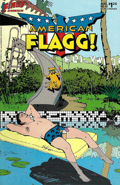 Cover for American Flagg (First, 1983 series) #43