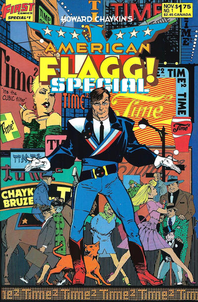 Cover for American Flagg! Special (First, 1986 series) #1