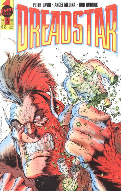 Cover for Dreadstar (First, 1986 series) #55