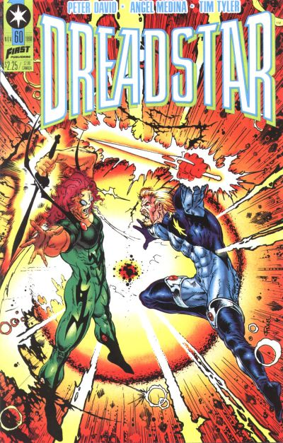 Cover for Dreadstar (1986 series) #60