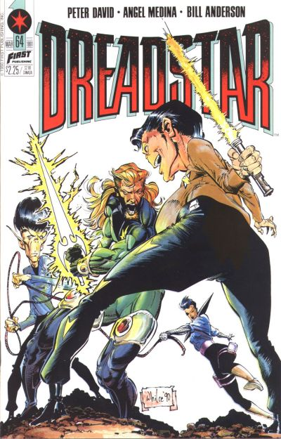 Cover for Dreadstar (First, 1986 series) #64