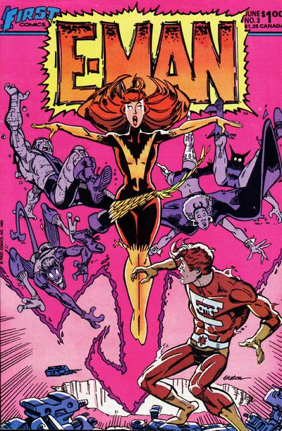 Cover for E-Man (First, 1983 series) #3