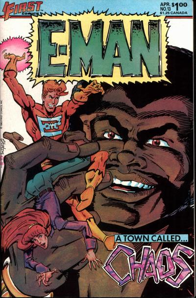 Cover for E-Man (First, 1983 series) #13
