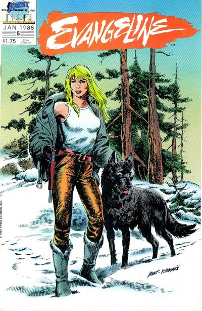 Cover for Evangeline (1987 series) #5
