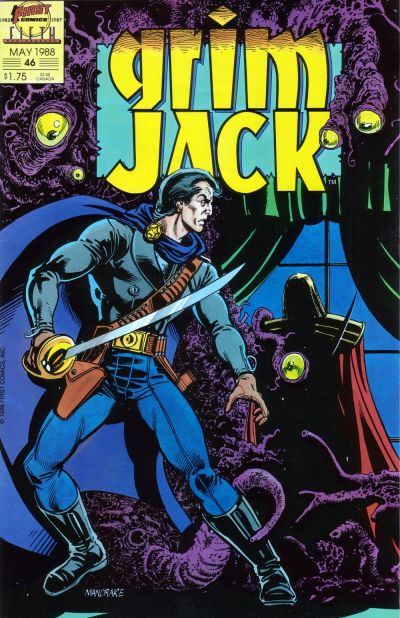 Cover for Grimjack (1984 series) #46