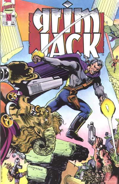 Cover for Grimjack (First, 1984 series) #53