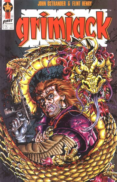 Cover for Grimjack (First, 1984 series) #79
