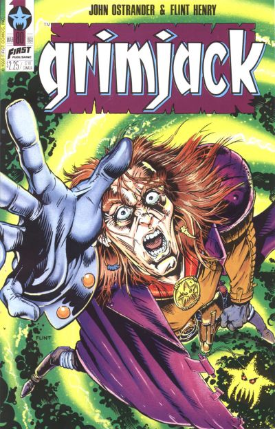 Cover for Grimjack (First, 1984 series) #80
