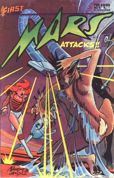 Cover for Mars (1984 series) #2