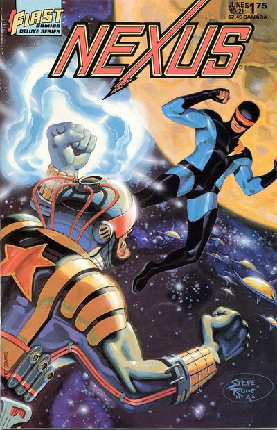 Cover for Nexus (1985 series) #21