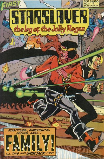 Cover for Starslayer (First, 1983 series) #11