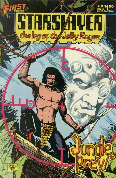 Cover for Starslayer (First, 1983 series) #15