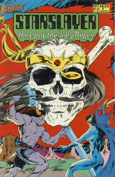Cover for Starslayer (1983 series) #34