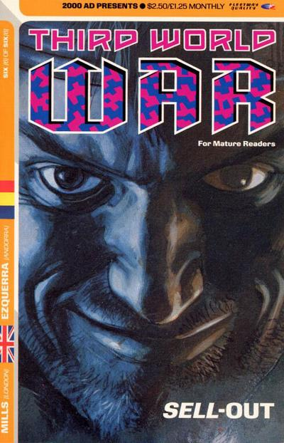 Cover for Third World War (1990 series) #6