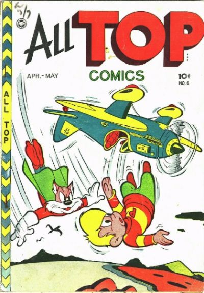 Cover for All Top Comics (1946 series) #6