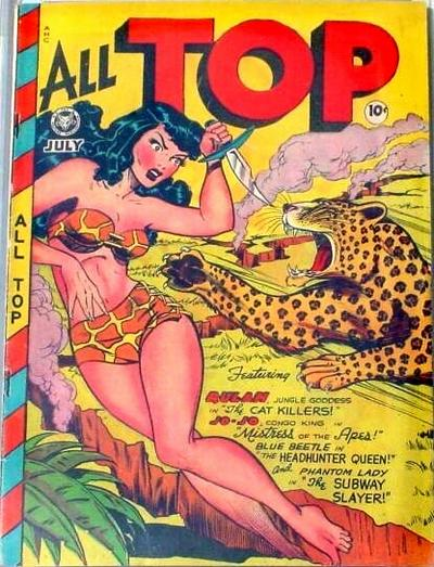 Cover for All Top Comics (1946 series) #12
