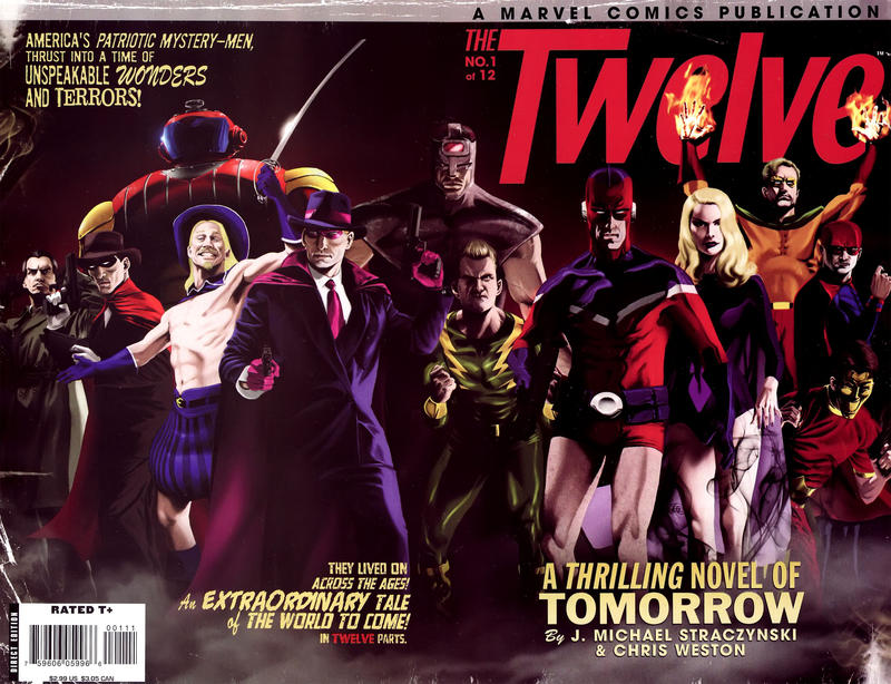 Cover for The Twelve (Marvel, 2008 series) #1