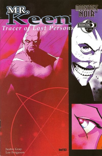 Cover for Moonstone Noir: Mr. Keen, Tracer of Lost Persons (Moonstone, 2003 series) #2